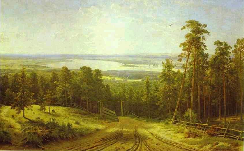 Картины пейзажи известных художников